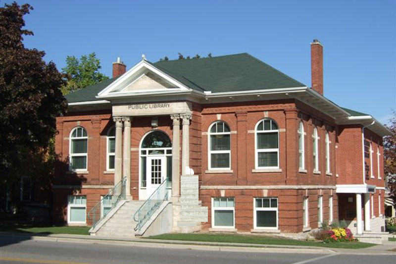 Shelburne Public Library Location